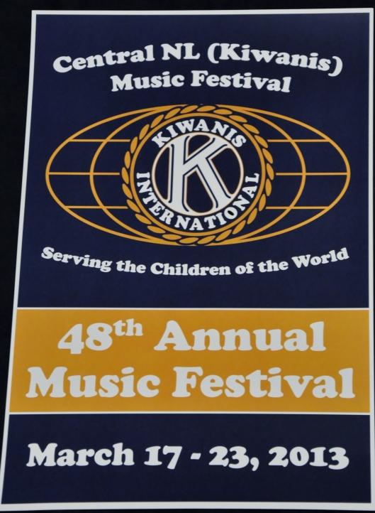 KIWANIS MUSIC FESTIVAL 11 DAYS TO GO